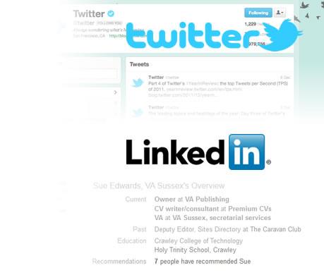 Linkedin & Twitter Services