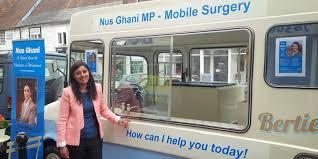 Nus Ghani, MP for Wealden