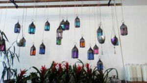 Lanterns at Miss Bloomsbury