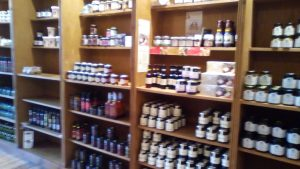 Pickles and jams at Cheese etc