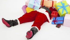 Santa Christmas shopping Uckfield!