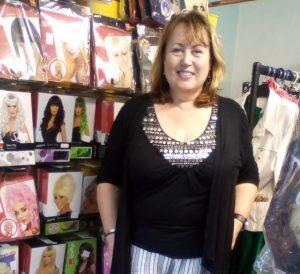 Donna, French's fancy dress
