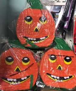 Pumpkins at French's Fancy Dress, Uckfield
